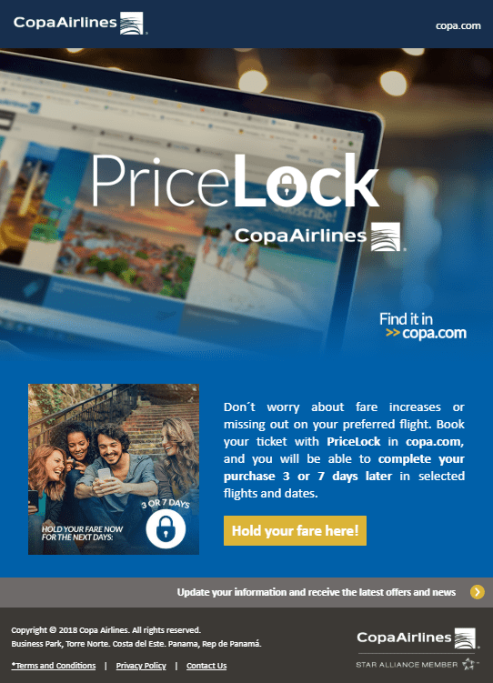 This Airline Will Let You Lock In Your Price For Up To 7 Days Good Deal Or No Travel Realized