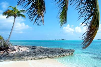 Beautiful Ocean Views Of Nearby Cays And Harbor in Green Turtle Cay