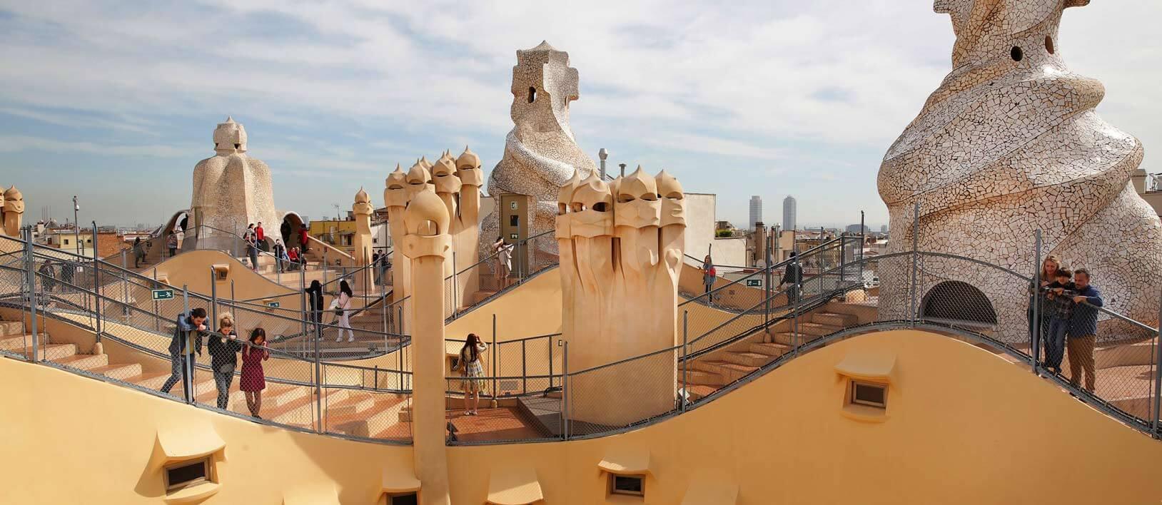 Recorrido por las obras de Gaud en Barcelona  Travel Report