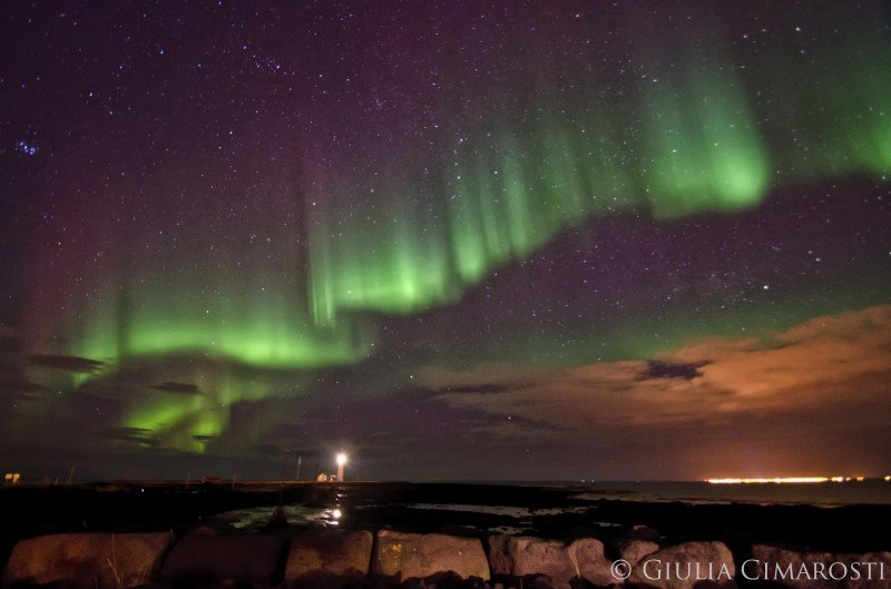 Best Place Iceland See Northern Lights