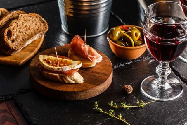 Spanish Tapas and Wine