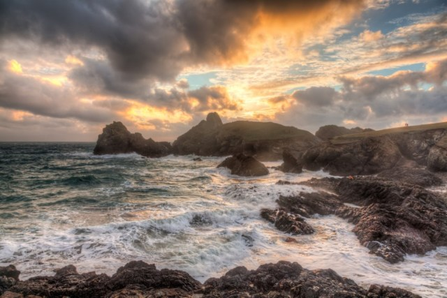 Dramatic Skies in Cornwall