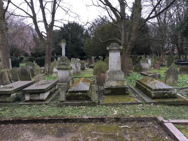 A london cemetery