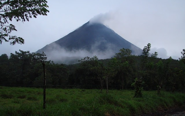 We have arrived Arenal!