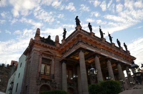 Another view of Teatro Juarez