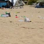 Plastic, butts, styrofoam, wrappers, bottles, cans…litter