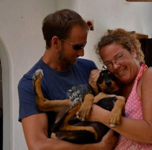 Foster parents puppies