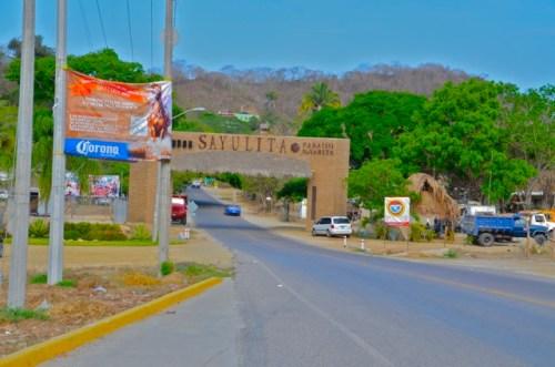 Entrance to Sayulita