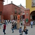 The Calle San Francisco side of El Jardin