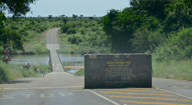 Crocodile Bridge entrance to Kruger National Park