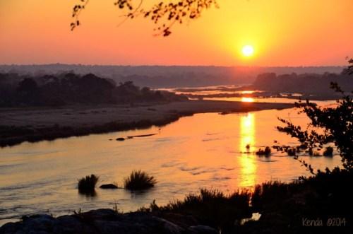 Sunrise over Crocodile River Marloth Park