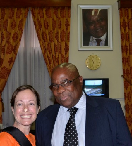 Joel Matshoba Parliament Cape Town
