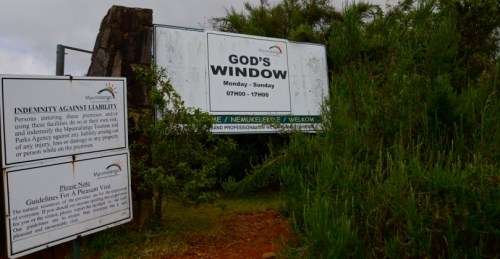 Entrance God's Window