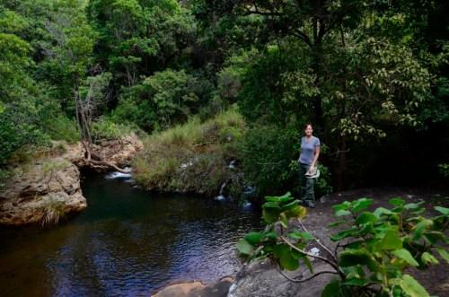 Tufa waterfall