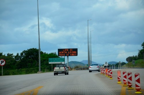 I've seen other similar road signs in South Africa.