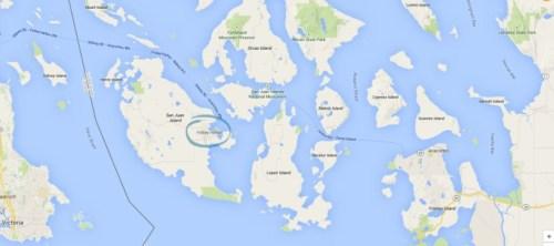 Friday Harbor Map