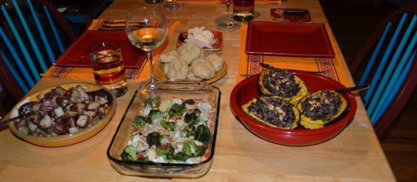 A Peaceful Thanksgiving Dinner