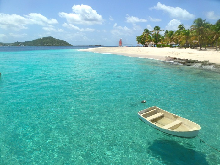 tobago cays marine park palm island