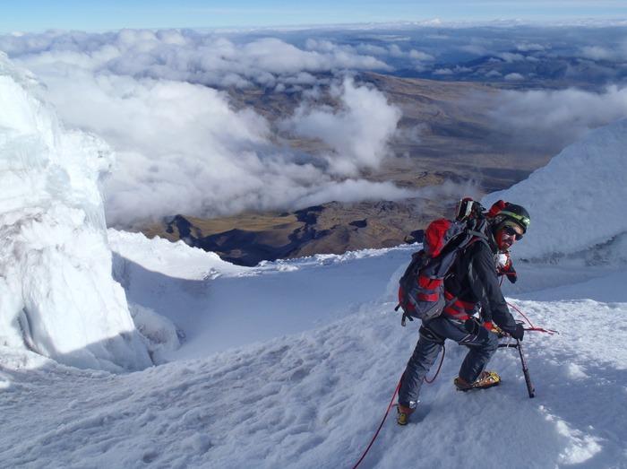 backpacking ecuador budget cotopaxi climb