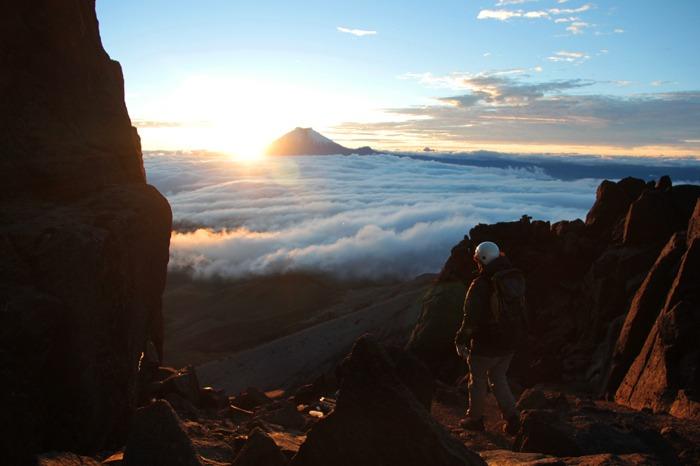 backpacking ecuador budget iliniza