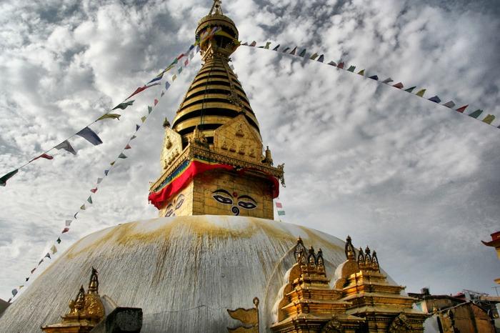 swayambhunath best places to visit in kathmandu