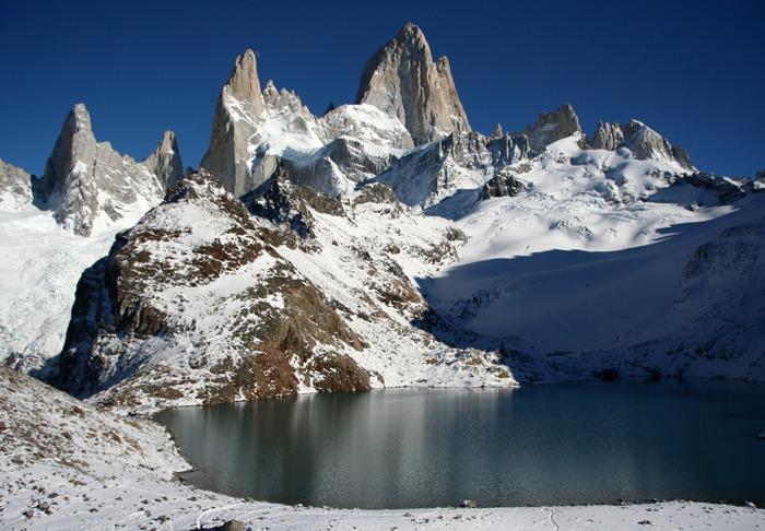 laguna tres Trekking del Fitz Roy y Cerro Torre