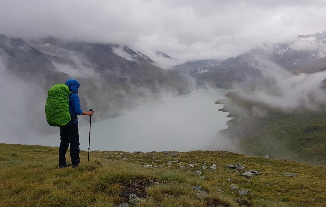 Lac de dix haute route trek