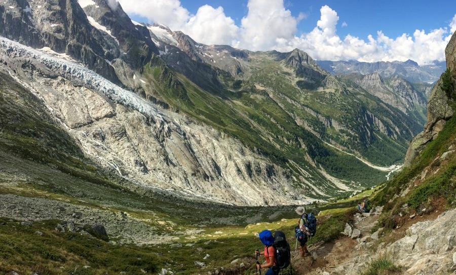 trient valley haute route trek