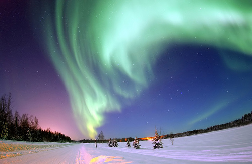 iceland northern lights/travel bucket list