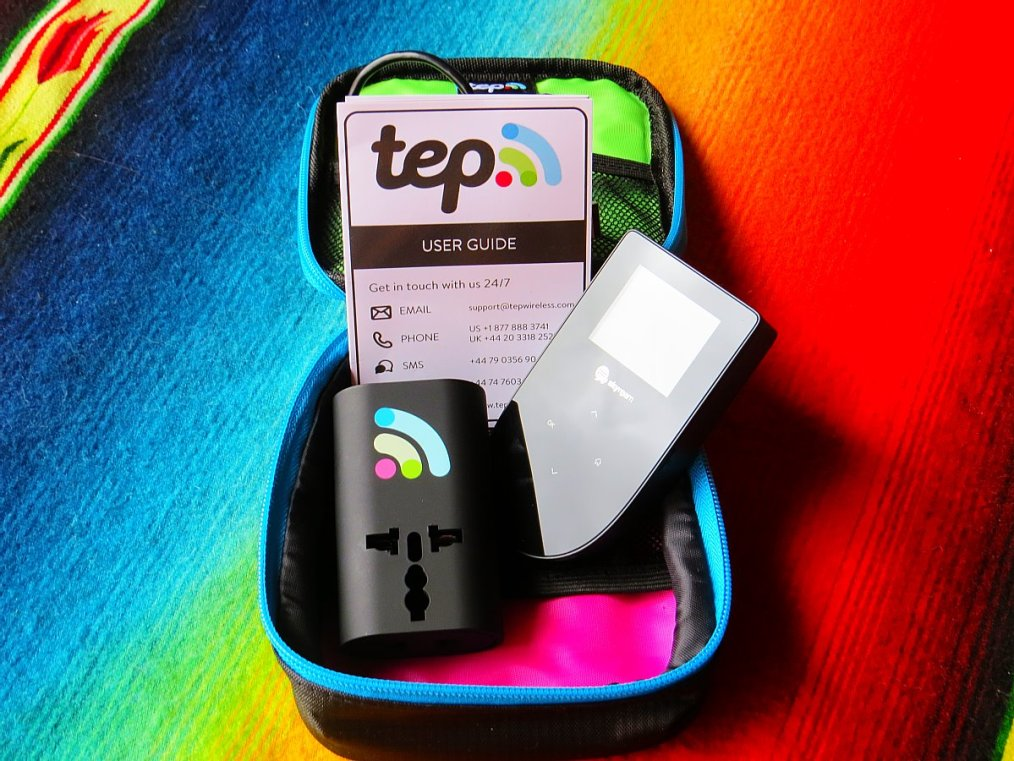 "Avoid The ""Free Wireless"" Travel Scam With The Tep Wireless Wi-Fi Hotspot"