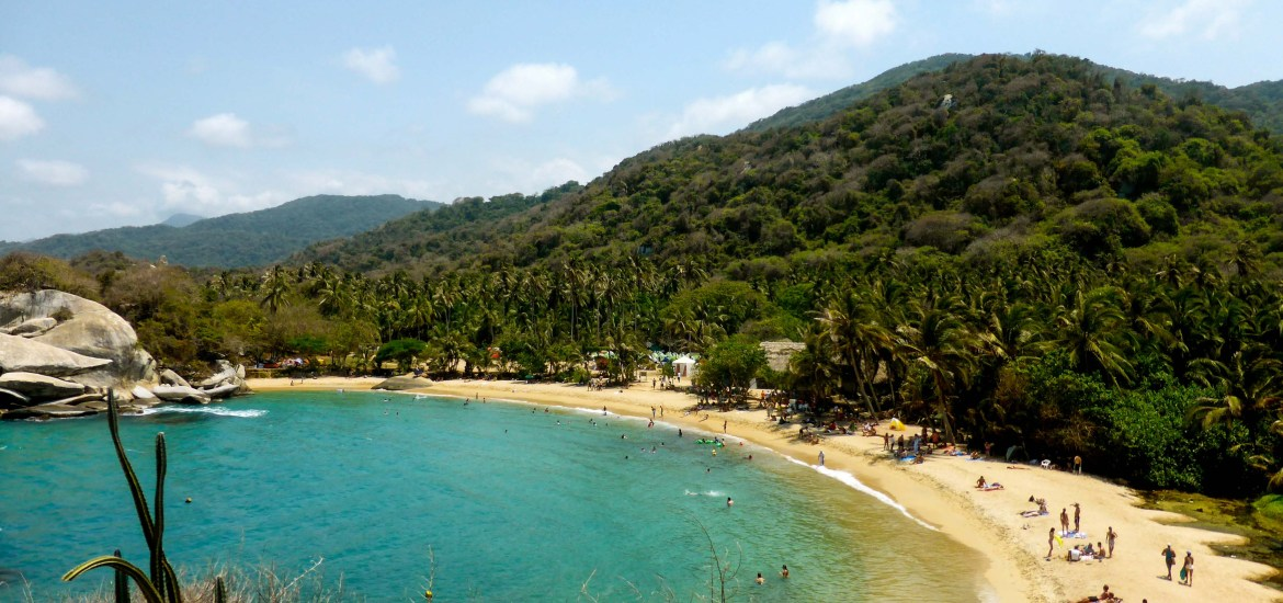 The Breathtaking Jungle Beaches Of Parque Tayrona Colombia Travelsewhere