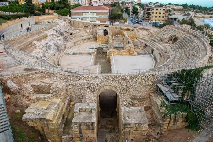 Roman Amphitheatre, Tarragona Sights