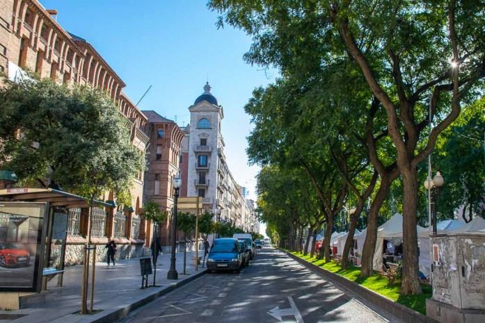 Rambla Nova, Sights to See in Tarragona