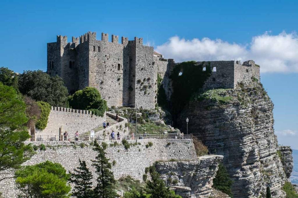Castello di Venere, Erice Castle
