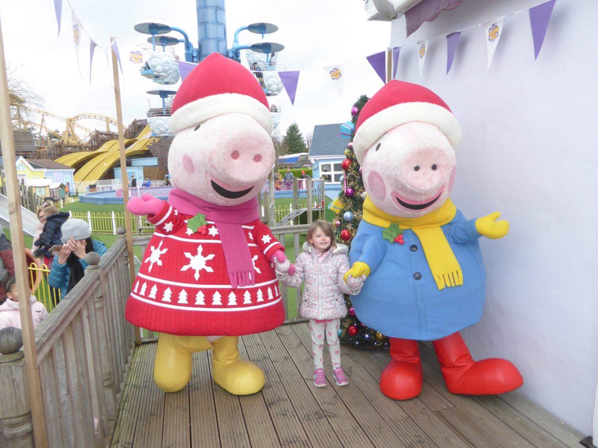 Christmas At Peppa Pig World Video Travelshorts Com