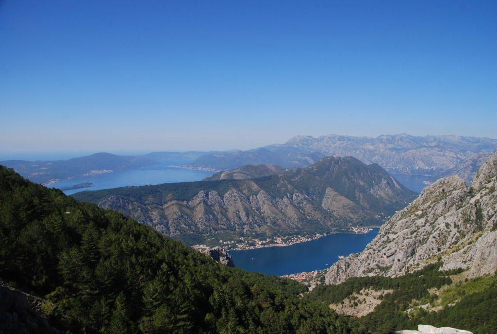 Uitzicht Lovćen Nationaal Park