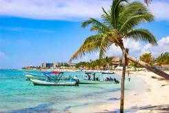 Der traumhafte Strand von Playa del Carmen