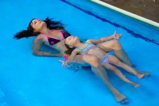 Entspannen Pool
