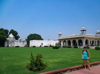Park Red Fort Delhi Indien