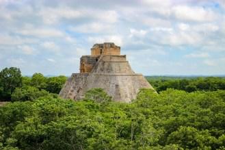 Pyramide des Zauberers in Uxmal