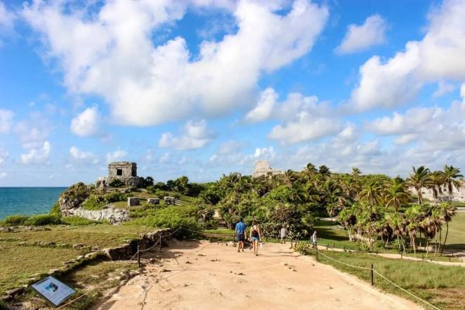 Tempel des Windgottes Tulum Yucatan