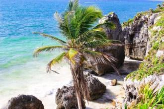 Die Küste in Tulum
