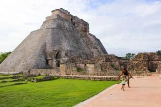 Zauberer Pyramide Vogelplatz Uxmal