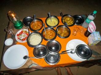 Abendessen Umaid Safaris Desert Lodge