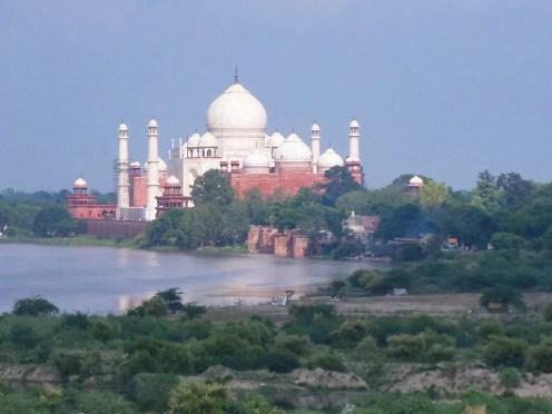 Aussicht Taj Mahal