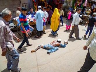 Bettler Ajmer Indien