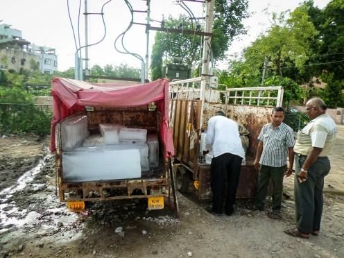 Eisblock Verkauf Indien