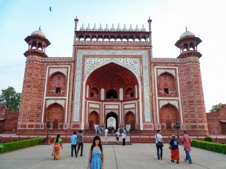 Great Gate Taj Mahal