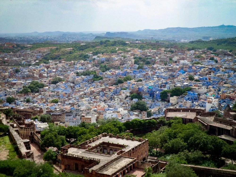 Jodhpur Blaue Stadt