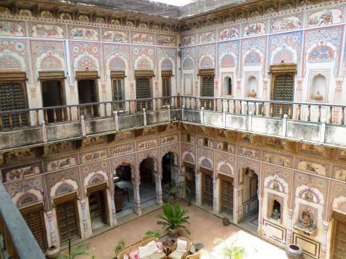 Le Prince Haveli Fatehpur in der Nähe von Mandawa